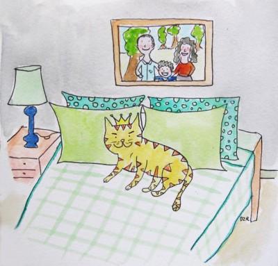 Sobre la pertinencia de tener un gato antes, durante y después de unterremoto