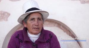 Mujer esterilizada a los 47 años.