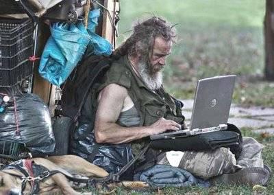 El periodista mendigo