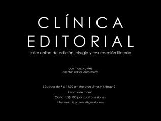 Clínica de edición envivo