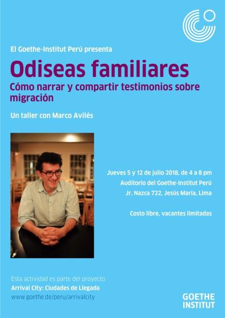 Odiseas familiares afiche2.jpg