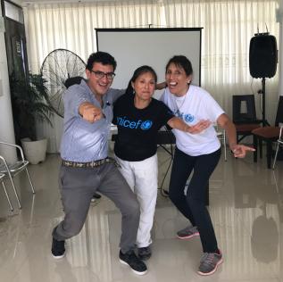 Migración para periodistas y funcionarios –Unicef