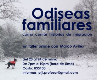 Odiseas Familiares – Taller Online – 20 deMayo